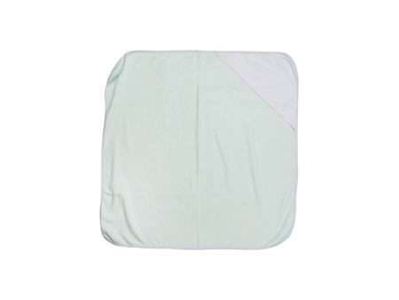 Sublimation Baby Hooded Towel (80*80, Light Green)
