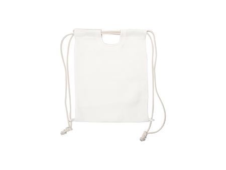Drawstring Backpack (Linen)
